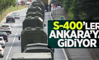 S-400'ler Ankara'ya gidiyor