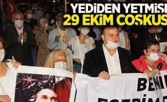 Samsun'da yediden yetmişe 29 Ekim coşkusu