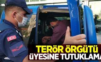 Terör örgütü üyesine tutuklama