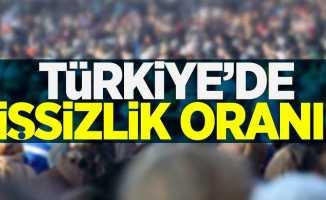 Türkiye'de işsizlik oranı!