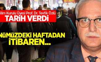 Bilim Kurulu Üyesi Prof. Dr. Tevfik Özlü tarih verdi! Önümüzdeki haftadan itibaren...