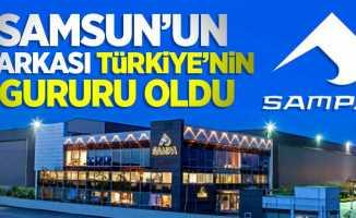 Samsun'un markası Türkiye'nin gururu oldu