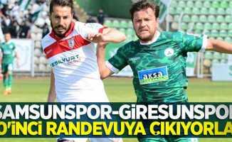Samsunspor-Giresunspor50'inci randevuya çıkıyorlar