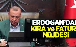 Erdoğan'dan kira ve fatura müjdesi! Esnafları ilgilendiren o açıklama...