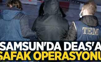 Samsun'da DEAŞ'a şafak operasyonu: 8 mülteci gözaltına alındı