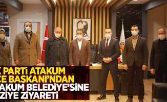 Ak parti Atakum ilçe Başkanı'ndan Atakum Belediye'sine taziye ziyareti