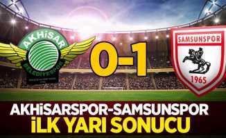Akhisarspor 0 Samsunspor 1 (İlk Devre)