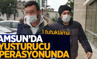 Samsun'da uyuşturucu operasyonunda