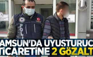 Samsun'da uyuşturucu ticaretine 2 gözaltı