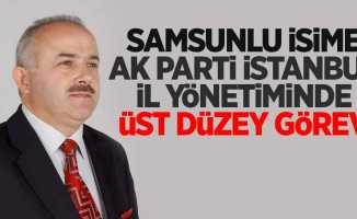 Samsunlu isime AK Parti İstanbul il yönetiminde üst düzey görev