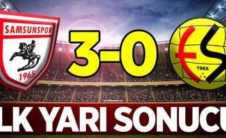 Samsunspor 3 Eskişehir 0 (İlk Devre)