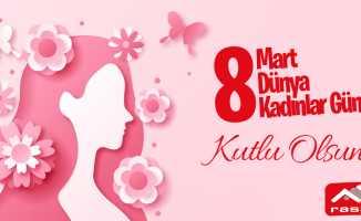 Raspo Boya, 8 Mart Kadınlar Günü Mesajı