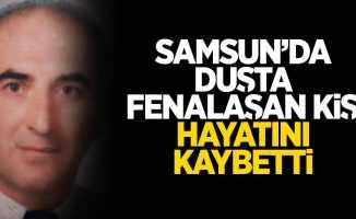 Samsun'da duşta fenalaşan kişi hayatını kaybetti