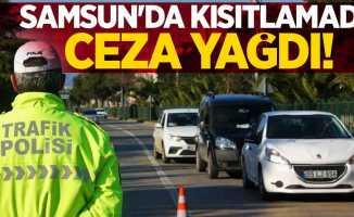 Samsun'da kısıtlamada ceza yağdı!