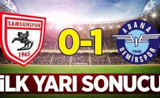 Y.Samsunspor 0 A.Demirspor 1 (İlk Yarı Sonucu)