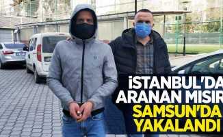 İstanbul'da aranan Mısırlı Samsun'da yakalandı
