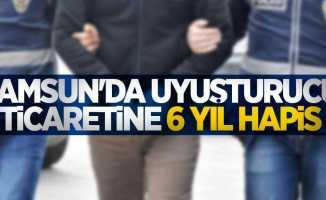 Samsun'da uyuşturucu ticaretine 6 yıl hapis