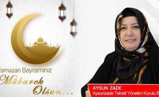 Aysunzade Tekstil'den bayram kutlaması