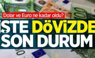Dolar ve Euro ne kadar oldu?6 Mayıs Perşembedövizde son durum...