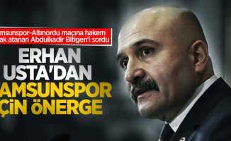 Erhan Usta'dan Samsunspor için önerge
