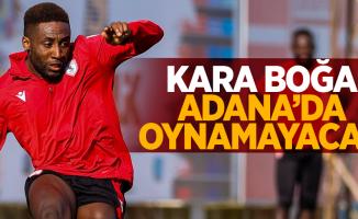 Kara boğa Adana'da oynamayacak