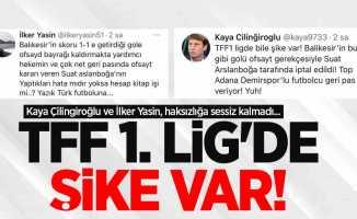 Kaya Çilingiroğlu ve İlker Yasin, haksızlığa sessiz kalmadı...  TFF 1.LİG'DE ŞİKE VAR!