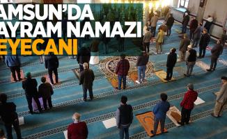 Samsun'da bayram namazı heyecanı