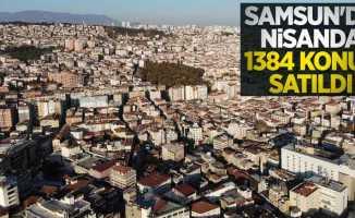 Samsun'da nisanda 1384 konut satıldı