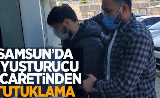 Samsun'da uyuşturucu ticaretinden tutuklama