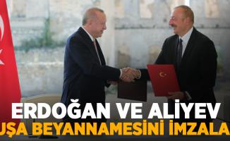 Erdoğan ve Aliyev, Şuşa Beyannamesini imzaladı