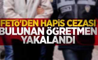 FETÖ'den hapis cezası bulunan öğretmen yakalandı