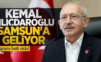 Kemal Kılıçdaroğlu Samsun'a geliyor! Programı belli oldu