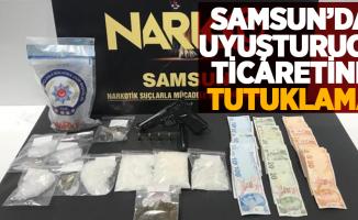 Samsun'da uyuşturucudan tutuklama