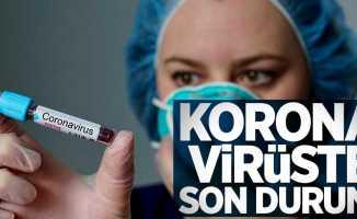 8 Temmuz koronavirüs tablosu açıklandı