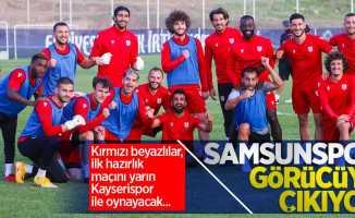 Kırmızı beyazlılar, ilk hazırlık maçını yarın Kayserispor ile oynayacak...  Samsunspor görücüye çıkıyor