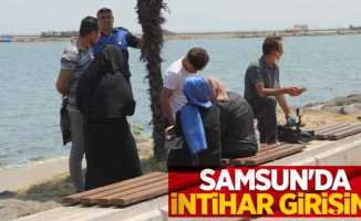 Samsun'da intiharı zabıta ve vatandaşlar önledi
