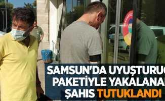 Samsun'da uyuşturucu paketiyle yakalanan şahıs tutuklandı