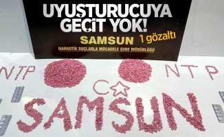 Samsun'da uyuşturucuya geçit yok: 1 gözaltı