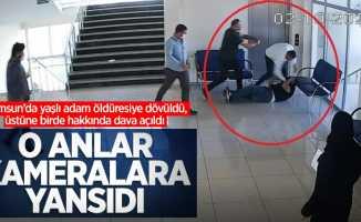 Samsun'da yaşlı adam öldüresiye dayak yedi! Üstüne birde hakkında dava açıldı