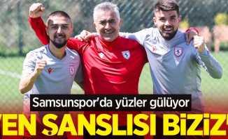 Samsunspor'da yüzler gülüyor! Altıparmak; En şanslısıbiziz