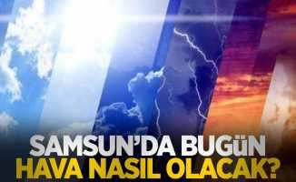 1 Ağustos Pazar Samsun ve ilçelerinde hava durumu...