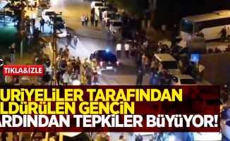 Altındağ'da Suriyeliler tarafından öldürülen gencin ardından tepkiler büyüyor