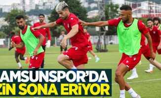 Samsunspor'da izin sona eriyor
