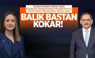 """Başkan Demir'in """"mikrop"""" sözlerine Başkan Türk'ten tepki"""