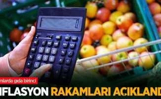 Enflasyon rakamları açıklandı! Zamlarda gıda birinci