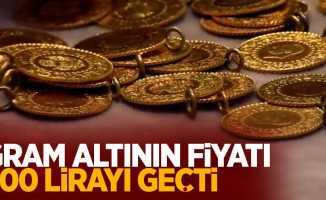 Gram altının fiyatı 500 lirayı geçti