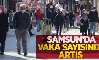 Haftalık vaka haritası açıklandı! Samsun'da vaka sayısında artış