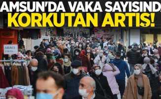 Haftalık vaka haritası açıklandı! Samsun'da vaka sayısında korkutan artış!