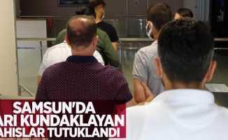 Samsun'da barı kundaklayan şahıslar tutuklandı
