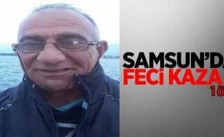 Samsun'da feci kaza: 1 yaralı